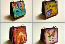 CRAFTY - Mini Albums / Sweet little mini albums / by Jami Bova