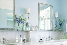 beautiful bathrooms /  Light and airy, tile to die for that's what comes to mind for my dream bathroom.