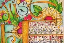CRAFTY - Art Journaling / beautiful ways to document memories