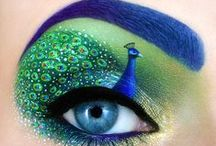 EyEs / Color palettes, designs, costume, event, makeup, pure, #beautiful #eyes