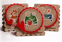 CARDS - krafty creations / cards that use Kraft paper / by Jami Bova