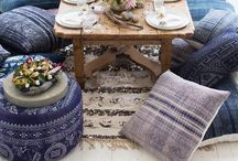 Tablescapes / inside and out / by Kirsten Marie Inc