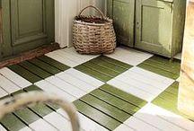 DECOR - I'm Floored! / Creative and unique ideas for flooring!