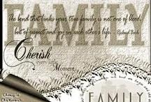 Family is important.... / by Tanya Warden Kemp