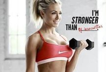 Fitness motivation  / Quotes and pictures to keep up my motivation. I am skinny but NOT healthy!!!