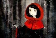 Art - Red Riding Hood / by Kristi