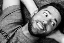 gorgeousPEOPLE / crushes. beautiful photos of beautiful #people, smiles, bodies, faces, facial hair, and those eyes...