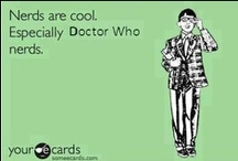 The Doctor My Doctor / Board was started for Doctor Who but is morphing into my Fandom board / by Kendall D