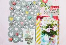 Valentine mood board