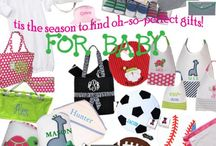 Babies, New Mommies, and Monograms!
