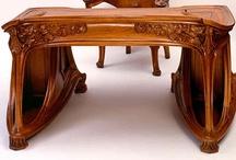 Art Nouveau Furniture / by Lori Paluska