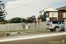 Amazing Automotive Ads / Some people are just so creative! These ads are interesting, amusing, and, often times, thought provoking. Check them all out; you might learn something new!