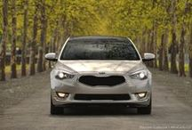 Kia Cadenza / Artfully fused luxury, performance, and technology in one expectation- defying package.