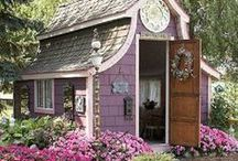 GARDEN SHEDS and ACCENTS / by Barb
