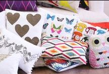 Cushion comfort / Brighten up any room with our fabulous fashionable cushions and pillows
