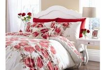 ROOM IDEAS -Scarlet and white Bedroom / ideas for your house