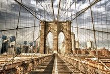 N e w Y o r k C i t y / NYC in all its glory - architecture, hustle & bustle, winter, summer, people.