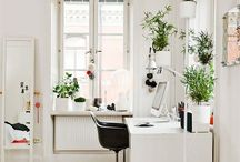 Creative workspace / Studio office / A place to be inspired to write, create and do what makes you happy.