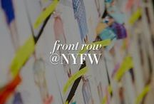 FRONT ROW SEAT AT NYFW / Take your front-row seat and join us backstage by and we bring you all the behind the scenes action from our design studio starting in LA to our showroom in NY, at our fashion week show and after party. Don't miss a single event! / by BCBGMAXAZRIA