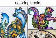 Art - Colorings / by Kristi