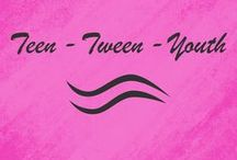 Teen Tween & Youth / Monogrammed apparel and accessories for teens, tweens, and youths.