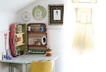 Craft rooms / craft rooms, craft room organization, craft room ideas, craft room decor, craft room home, home craft rooms. / by Theresa Huse