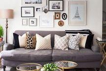 House & Home / Hopeful home ideas for interior design. / by Sara McAllister