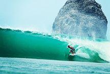Surfing  / by Delaney Des Baillets