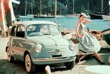 Vintage Fiats / Okay, it's true. I've fallen hard for these vintage Fiats! Gotta be the Italian in me.