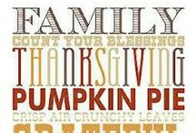 Thanksgiving / thanksgiving & November / by Tracy Melzer