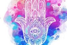 Hamsa / Hamsa hands are considered protection from negative vibes. These are gorgeous!!