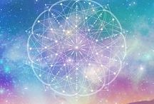 Sacred Geometry / Explore scared geometry through art, jewelry and other visuals.