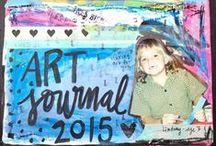 ART JOURNAL | Inspiration / Art Journal spreads by other artists