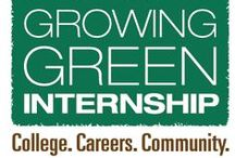 Growing Green Internship / Center for Land-Based Learning has completed two exciting summers of job skills training, community service, paid work experience, career exploration, and education in sustainable agriculture and environmental stewardship. Formerly the GreenCorps Program.