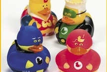Rubber Ducky Revolution / It's a revolution! Rubber duckies are taking over. From superhero rubber duckies to ice cream rubber duckies they're invading everywhere.  Duckies rule!