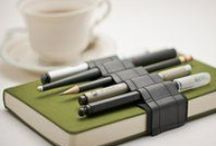 Writing Instruments - Pencils & Pens /  Pencils and Pens, Markers and Pastels, Fountain pens, inks, seals / by Ninja Kitteh