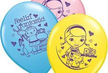 Party Balloons / Our themed and solid color balloons offer the highest quality foil and latex balloons for your party needs.