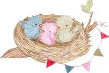 het Vrolijke Nest, kraamkadootjes, seizoenstafel, kinderkadootjes en meer! / www.hetvrolijkenest.nl Webwinkel voor handgemaakte baby-en kinderspullen, lees daar ook mijn blog. Volg het Vrolijke Nest op Facebook:  https://www.facebook.com/hetvrolijkenest/ voor nieuws en leuke acties! / by Kim Roos