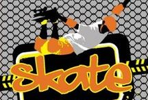 Skateboard Party Ideas / Skateboard themed parties are highly popular. Here's a few ideas for your skateboard party. Be sure to check out the exclusive DPS skate themed tableware and other skateboard party supplies.