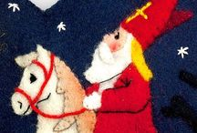 vilt Sinterklaas / felt Sinterklaas / by Kim Roos