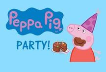 Peppa Pig Party Ideas / Peppa Pig is ready to help you with a cute girls party. Peppa Pig, George Pig & family bring the party supplies to life with plates, napkins, cups and more. You'll also love all the additional ideas for your Peppa Pig birthday party.
