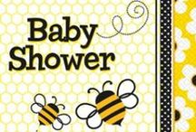 Bee Baby Shower Ideas / Bees are a cute idea for your baby shower or birthday party. There's plenty of bee party supplies, along with other bee baby shower and party ideas, to help you plan.
