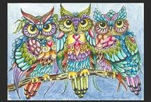 Whooooo knew I like owls?  / by Nadine Waers
