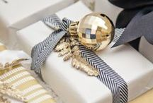 wrap it up / in high school, i wanted to work at nordstroms during the holidays just to wrap presents. / by Stephanie Howell