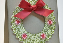 Cards  -  with Wreath