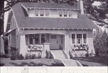 Bungalow Living / I have a passion for Craftsman bungalows, and the restored or well maintained interiors many contain. Kitchen and bath plans and fixtures especially. / by Shari Davenport