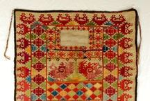 Fabrics, embroidery, sewing, textiles, rugs...