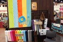 Quilt Market Fall 2013 / International Quilt Market, Fall 2013, Houston, Texas. Booth #444 and #357