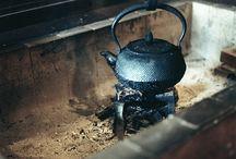 囲炉裏   火鉢  竈