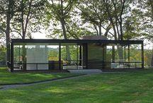フィリップ  ジョンソン    ガラスの家